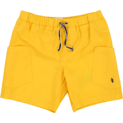 Carrément Beau Shorts 12Y / Jaune Short jaune jonquille Yellow short
