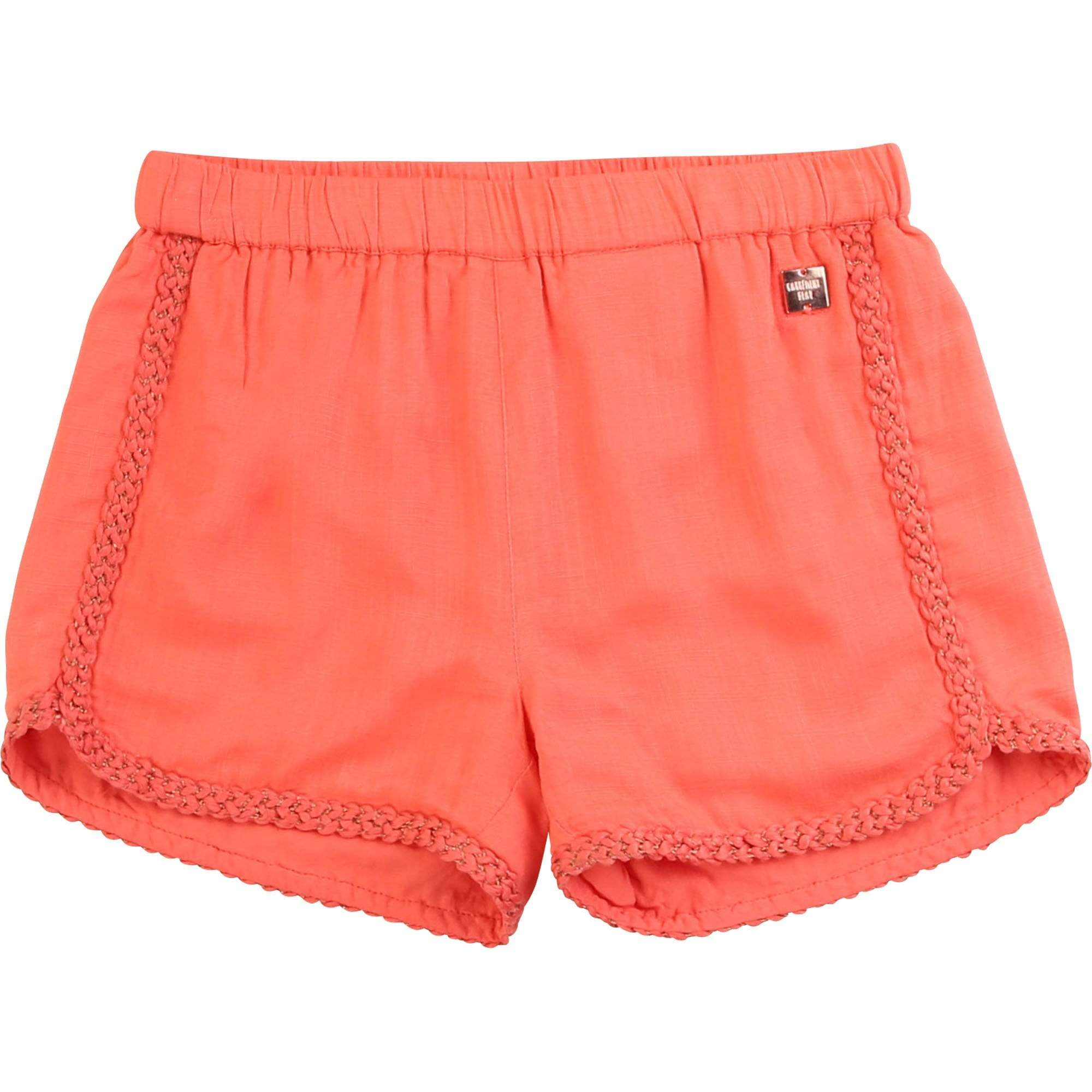 Carrément Beau Shorts Short rose corail Coral pink shorts