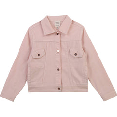 Carrément Beau Vestes Veste de denim rose Pink denim jacket