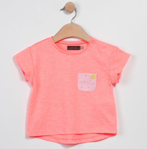 Catimini Chandails 3Y / Rose T-shirt fluo Fluo t-shirt