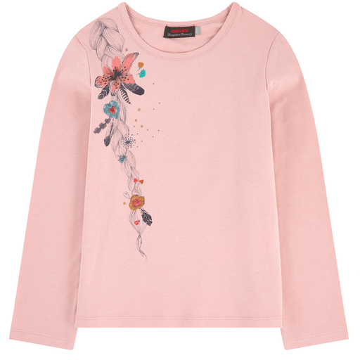 Catimini Chandails 6Y / Rose T-shirt T-shirt