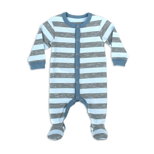 Coccoli Pyjamas 18M / Bleu Pyjama bleu et gris Baby blue and grey pyjama