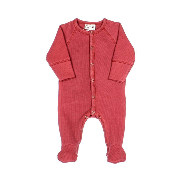 Coccoli Pyjamas combinaison rouge Red onesie
