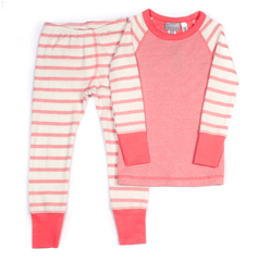Coccoli Pyjamas Pyjama long à rayure rose Long Pink stripe pyjama