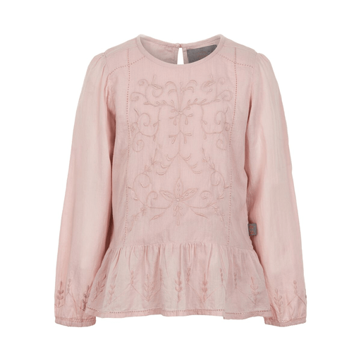 Creamie Hauts 14Y / Rose Chemisier manche long rose Pink long sleeved blouse