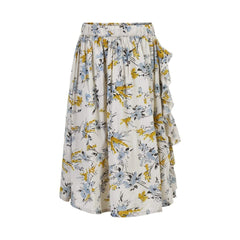 Creamie Jupes Jupe imprimé Printed flower skirt