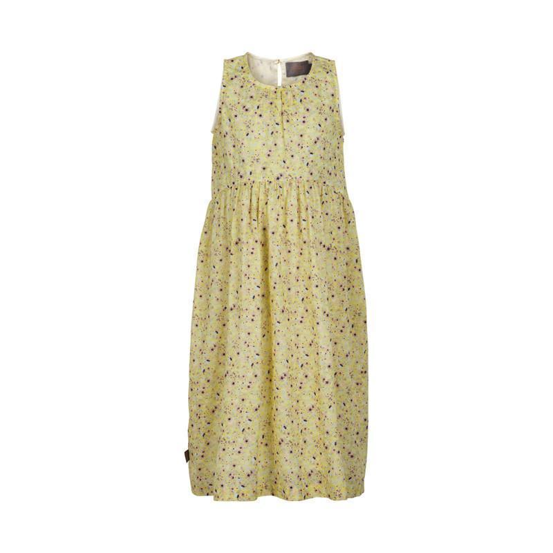 Creamie Robes 14Y / Jaune Robe d'été jaune Long yellow summer dress