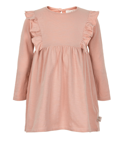 Creamie Robes 3Y / Rose Robe rose manches longues Pink dress