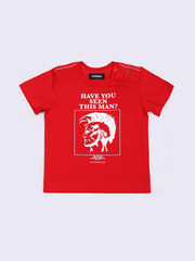Diesel Chandails 18M / Rouge Chandail rouge imprimé Red printed T-shirt