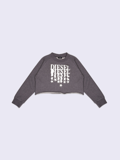 Diesel Hauts 16Y / Gris Sweat gris  Grey sweater