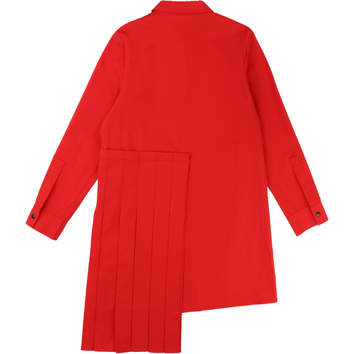 DKNY Robes 4Y / Rouge Robe rouge asymétrique Red asymetrical dress