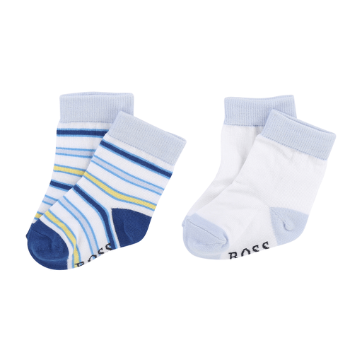 Hugo Boss Accessoires 18M / Blanc Lot de bas Set of socks