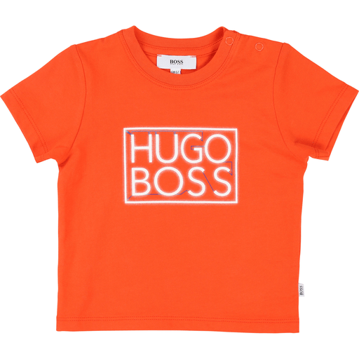 Hugo Boss Chandails 3Y / Orange Chandail orange neon Orange neon T-shirt