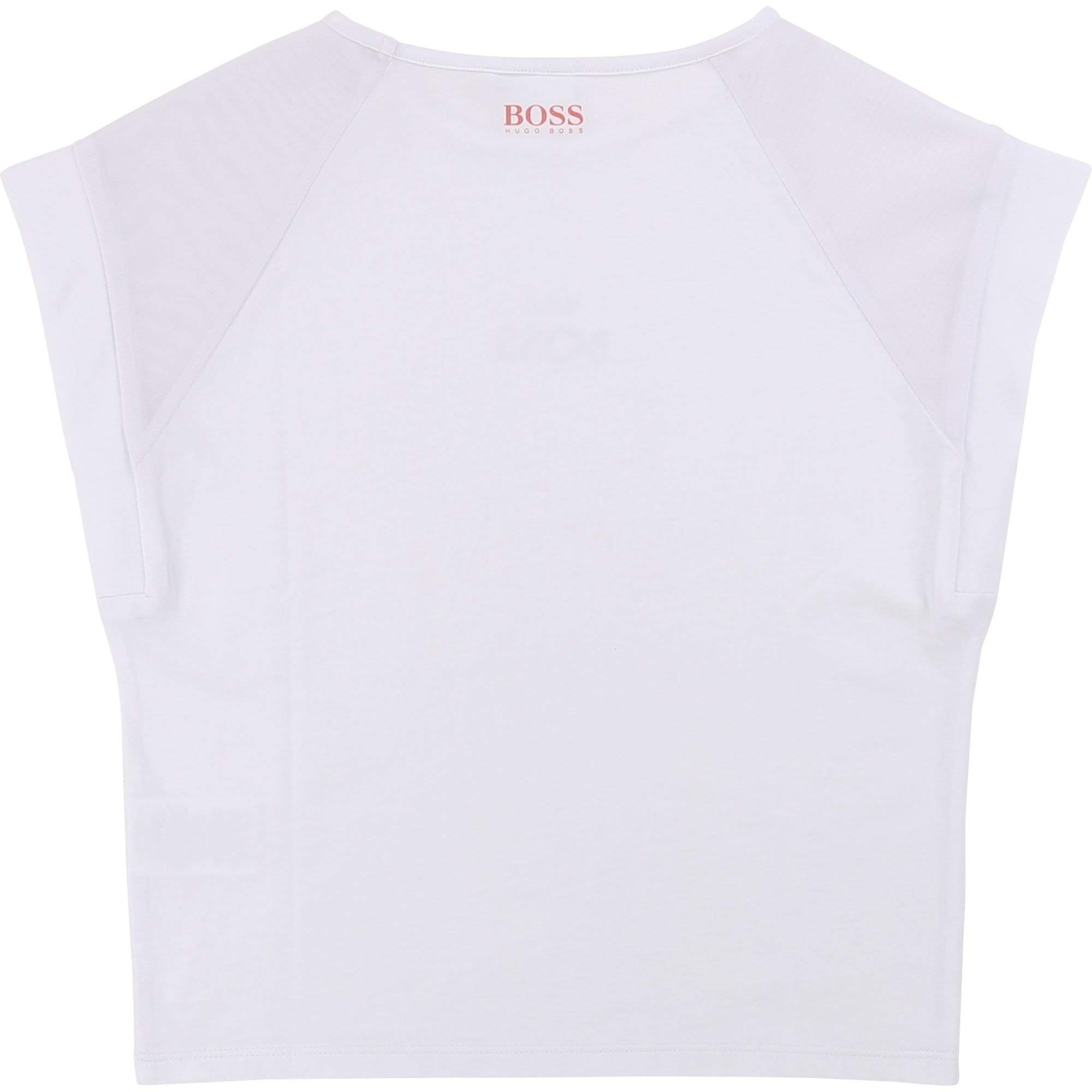 Hugo Boss Chandails Chandail blanc This is Boss T-shirt