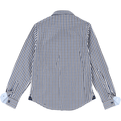 Hugo Boss Chemises 16Y / Bleu Chemise à carreaux Check shirt
