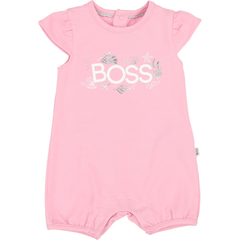 Hugo Boss Combinaisons 18M / Rose Combi-short rose   pink short jumpsuit
