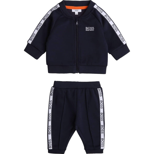 Hugo Boss Ensembles Ensemble jogging bleu Blue jogging kit
