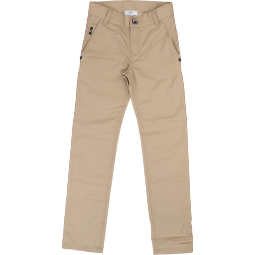 Hugo Boss Pantalons 16Y / Beige Pantalon cotton Coton pants