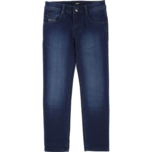 Hugo Boss Pantalons 16Y / Bleu Jeans en denim bleu Denim blue jeans