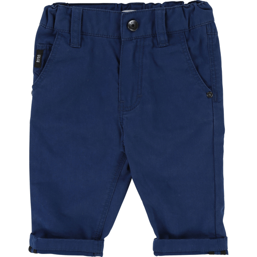 Hugo Boss Pantalons 3Y / Bleu Pantalon 5 poches bleu Blue 5 pockets pants