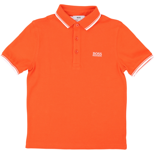 Hugo Boss Polos 16Y / Orange Polo orange Orange polo