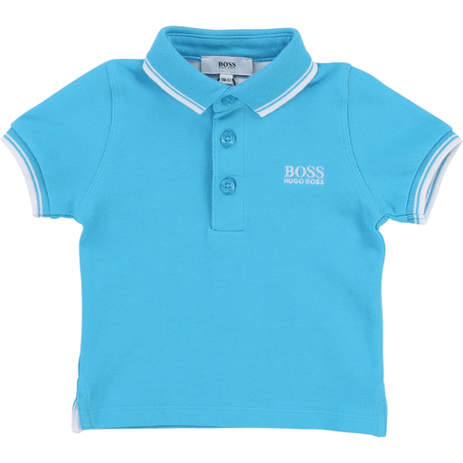 Hugo Boss Polos 3Y / Bleu Polo manches courtes Polo short sleeves