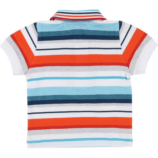 Hugo Boss Polos 3Y / Bleu Polo rayé multicolore Striped multicolour polo