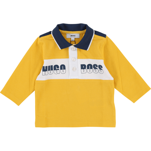 Hugo Boss Polos 3Y / Jaune Polo jaune moutarde Yellow polo
