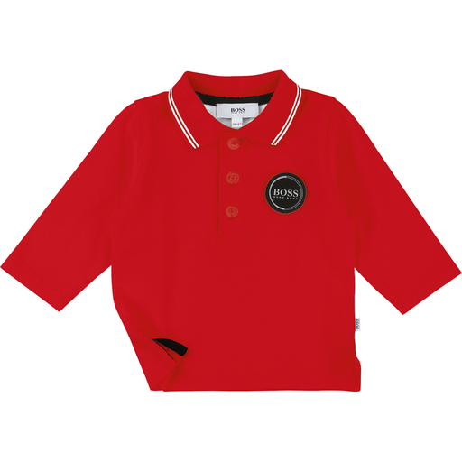 Hugo Boss Polos 3Y / Rouge Polo rouge pop Red polo