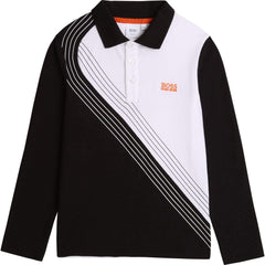 Hugo Boss Polos Polo blanc et noir Black and white polo