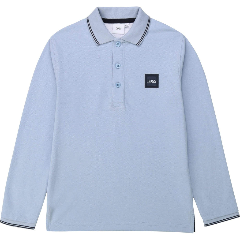 Hugo Boss Polos Polo bleu poudre Powder blue polo