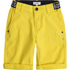 Hugo Boss Shorts Bermuda jaune Yellow bermuda