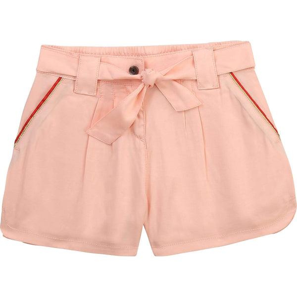 Hugo Boss Shorts Short rose à boucle Pink shorts with bow