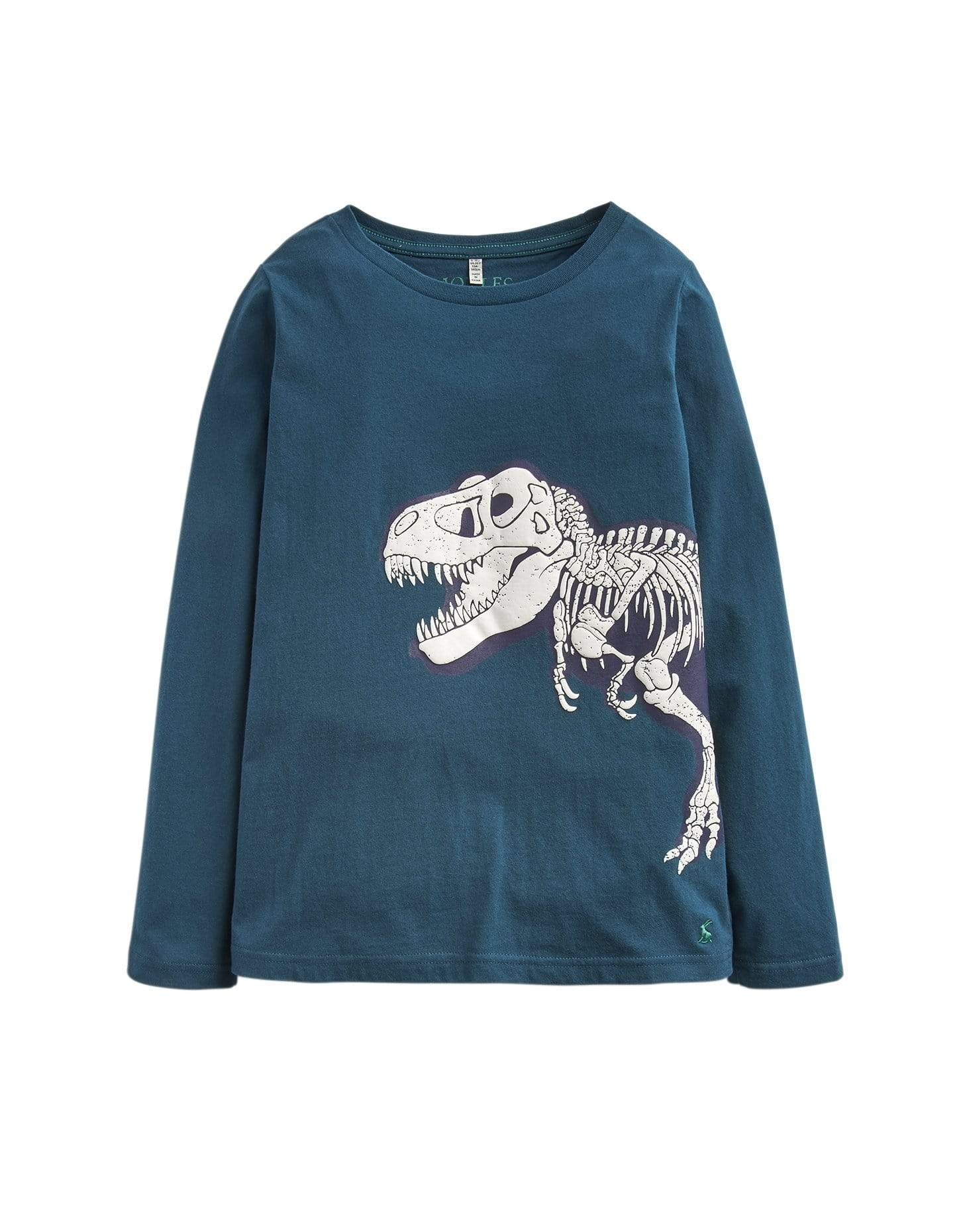 Joules Chandails Chandail vert avec dinosaure Green shirt with dinosaur