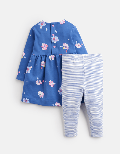 Joules Ensembles 2Y / Bleu Ensemble fleuri et à rayures Floral and striped set