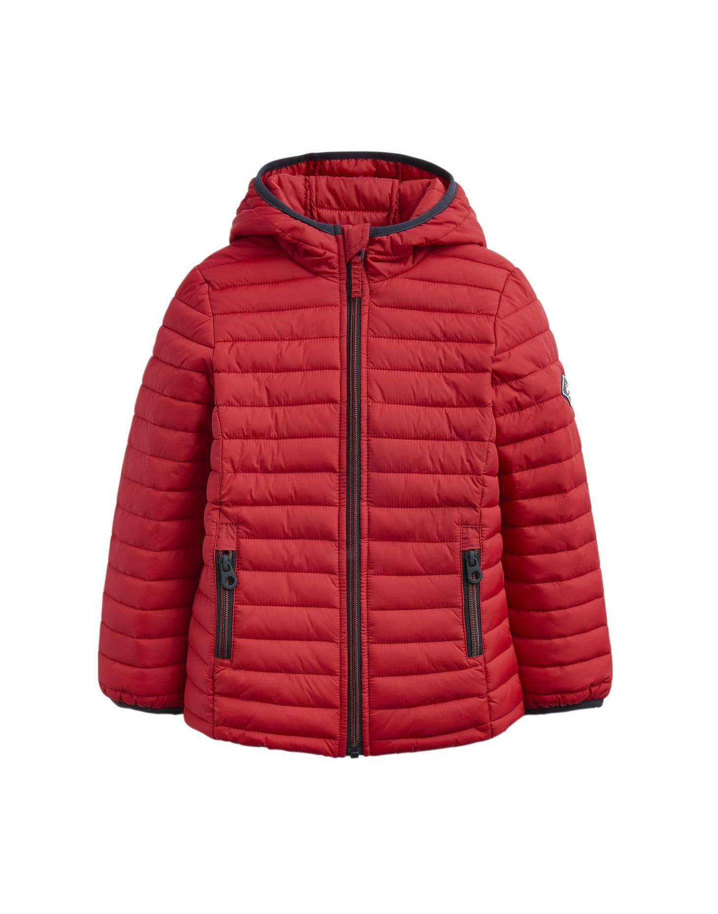 Joules Manteaux Doudoune rouge mi-saison Mid-season puffy red jacket