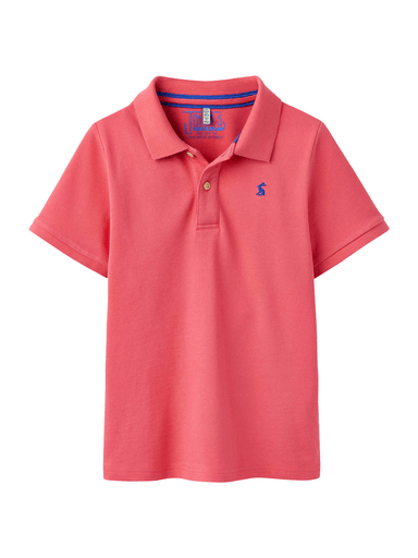 Joules Polos 12Y / Rouge Polo rose foncé Dark pink polo