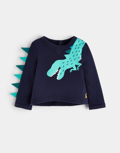 Joules Pulls 2Y / Bleu Sweat dino Novelty sweatshirt