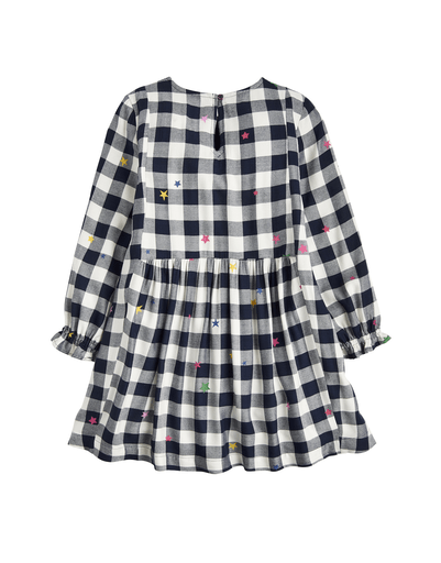 Joules Robes 10Y / Bleu Robe carreaux Check dress