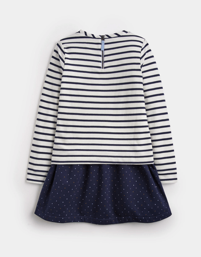 Joules Robes 12Y / Bleu Robe imprimée devant Front printed dress