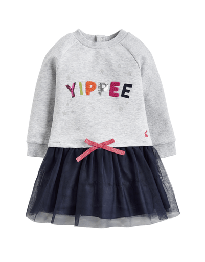Joules Robes 3Y / Blanc Robe YIPPEE YIPPEE dress