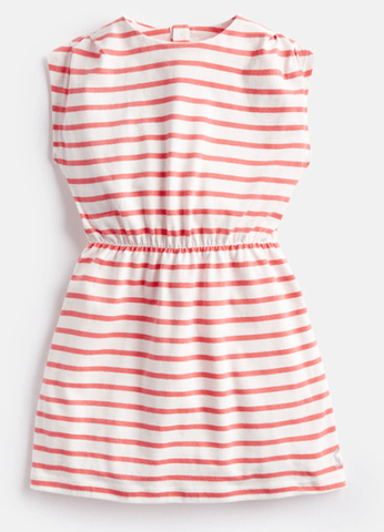 Joules Robes 5Y / Rose Robe rayée Striped dress