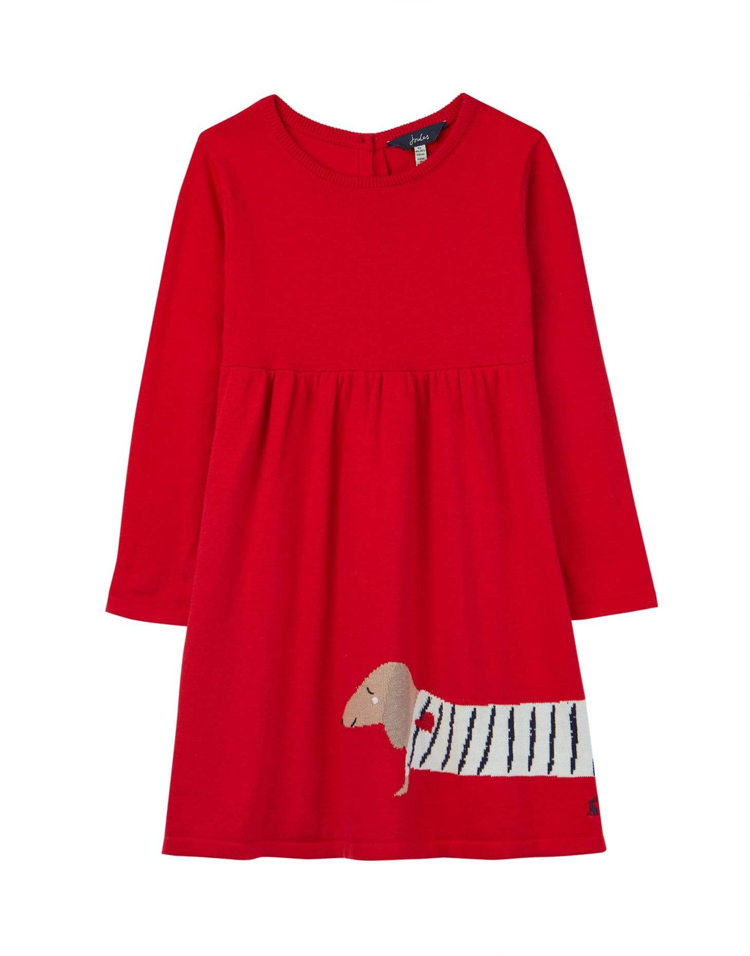 Joules Robes Robe rouge Red dress