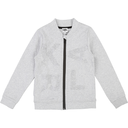 Karl Lagerfeld Cardigans 12Y / Gris Cardigan gris chiné  Gray heather cardigan
