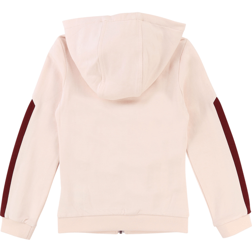 Karl Lagerfeld Cardigans 14Y / Rose Cardigan jogging rose Pink sweat cardigan