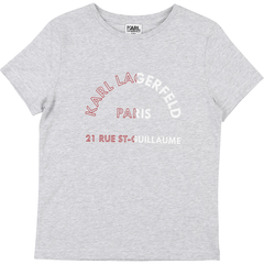 Karl Lagerfeld Chandails 12Y / Gris T-shirt gris chiné  Grey t-shirt
