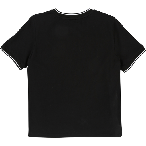 Karl Lagerfeld Chandails 16Y / Noir Chandail noir à chat Black cat T-shirt
