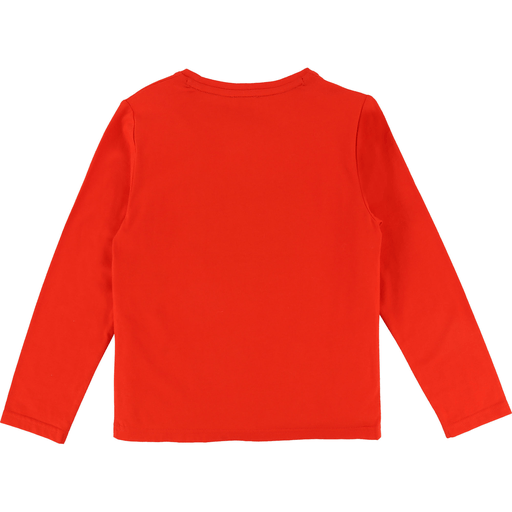 Karl Lagerfeld Chandails 16Y / Rouge T-shirt rouge avec imprimé Red print t-shirt