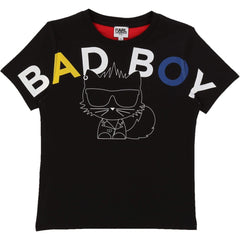 Karl Lagerfeld Chandails Chandail Bad boy T-shirt