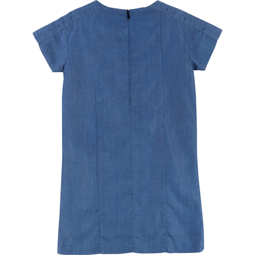 Karl Lagerfeld Robes 14Y / Bleu Robe chambray Chambray dress